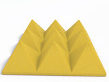4 Inch Acoustic Foam Pyramid Style Panels - 13 Colors