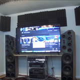 Home Theater Acoustic Foam Bundles by EXOcontralto