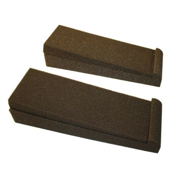 Monitor Isolation Pads For Subs And Speakers - Studio Acoustic Foam Stands - 2 Pack