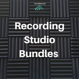 Recording Studio Acoustic Treatment Bundle
