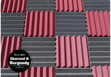 2 Inch Acoustic Foam Wedge Style Panels - 13 Colors
