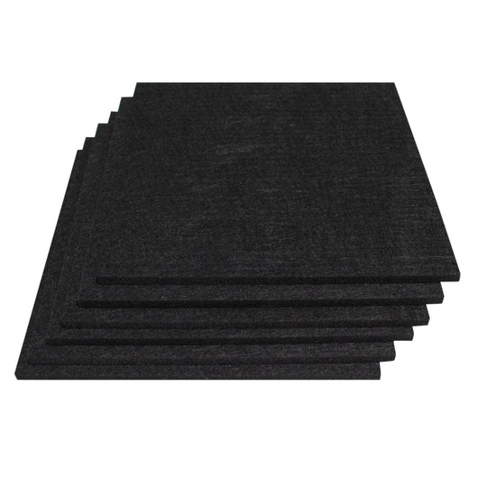 Polyester Acoustic Panels - 6 Pack Acoustic Tiles