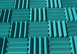 3 Inch Acoustic Foam Wedge Style Panels - 13 Colors