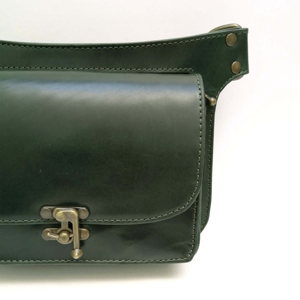 Dark Green Crossbody Hipbag Ariana Castellanos