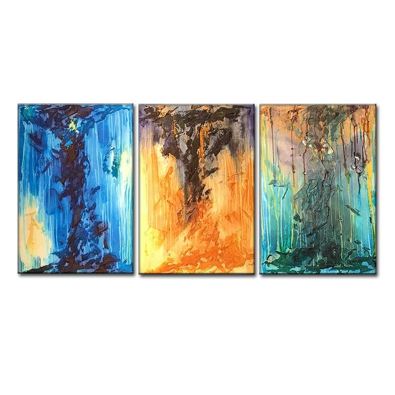 Abstract Painting, Textured Colorful Abstract Art, Modern Fine Art, Large Painting on Canvas - New Wave Art Gallery