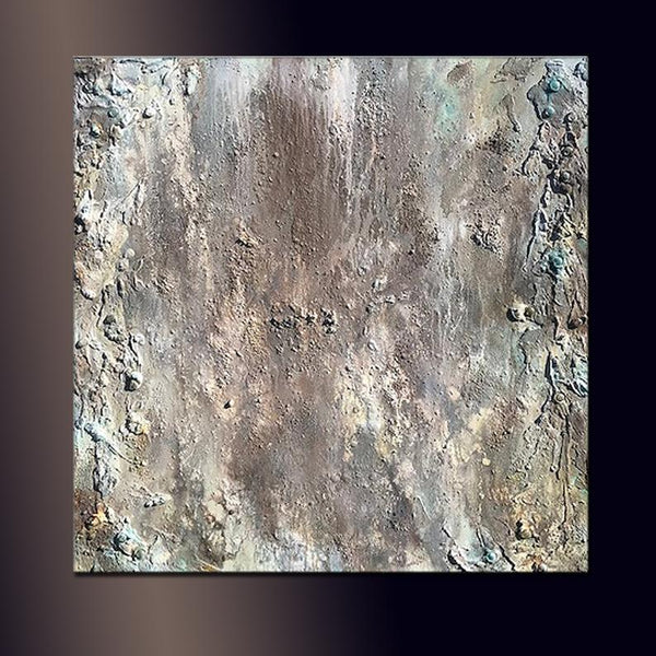 Abstract Painting, Large Textured Wall Art, Grey, white Painting Abstract Art , Modern Fine Art