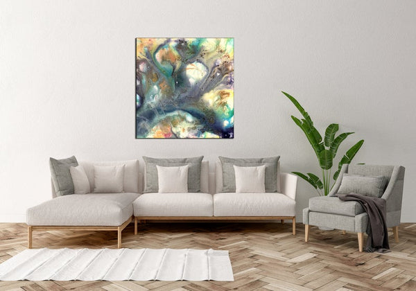 Original Abstract Painting, Wall Art Painting Contemporary Art, Abstract Art , Modern Fine Art - New Wave Art Gallery
