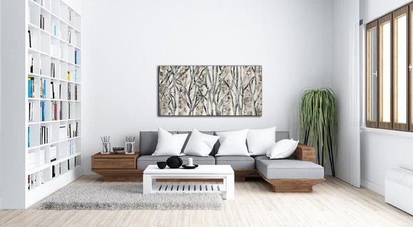 Original Abstract Painting, Textured Landscape Wall Art Painting Contemporary Art, Abstract Art , Modern Fine Art - New Wave Art Gallery