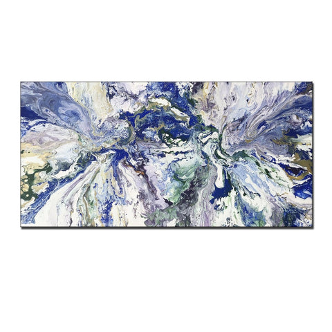 Abstract Painting, Wall Art Painting Abstract Art , Modern Fine Art, Marble Painting Wall Art Home Decor - New Wave Art Gallery
