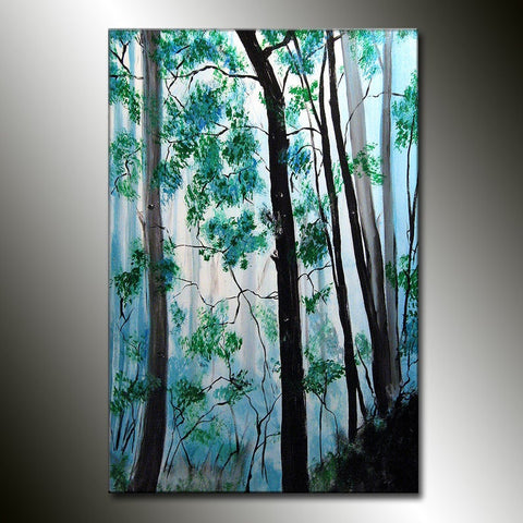 Abstract Painting, Large Abstract Art on Canvas, Landscape Painting