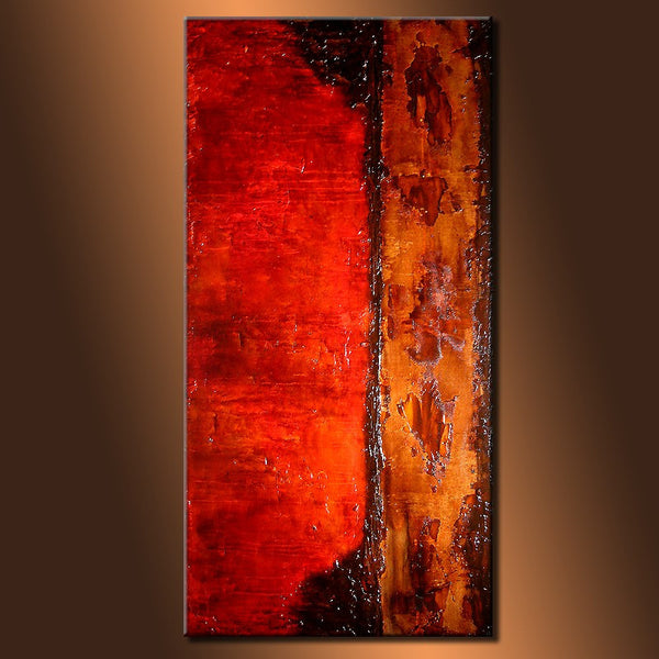 Original Modern Contemporary Textured Abstract Painting by Henry Parsinia - New Wave Art Gallery