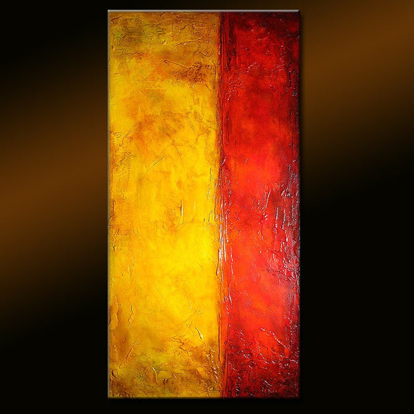 Original Modern Textured Abstract Painting ,Contemporary Gallery Painting By Henry Parsinia - New Wave Art Gallery