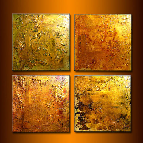 Huge Original Abstract Painting, Textured  Metallic Art by Henry Parsinia large 80x20 - New Wave Art Gallery
