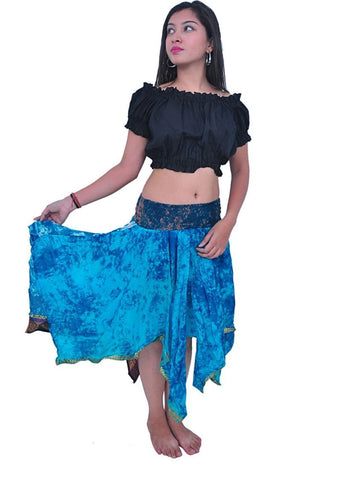 Diamond Cut style Silk Skirts