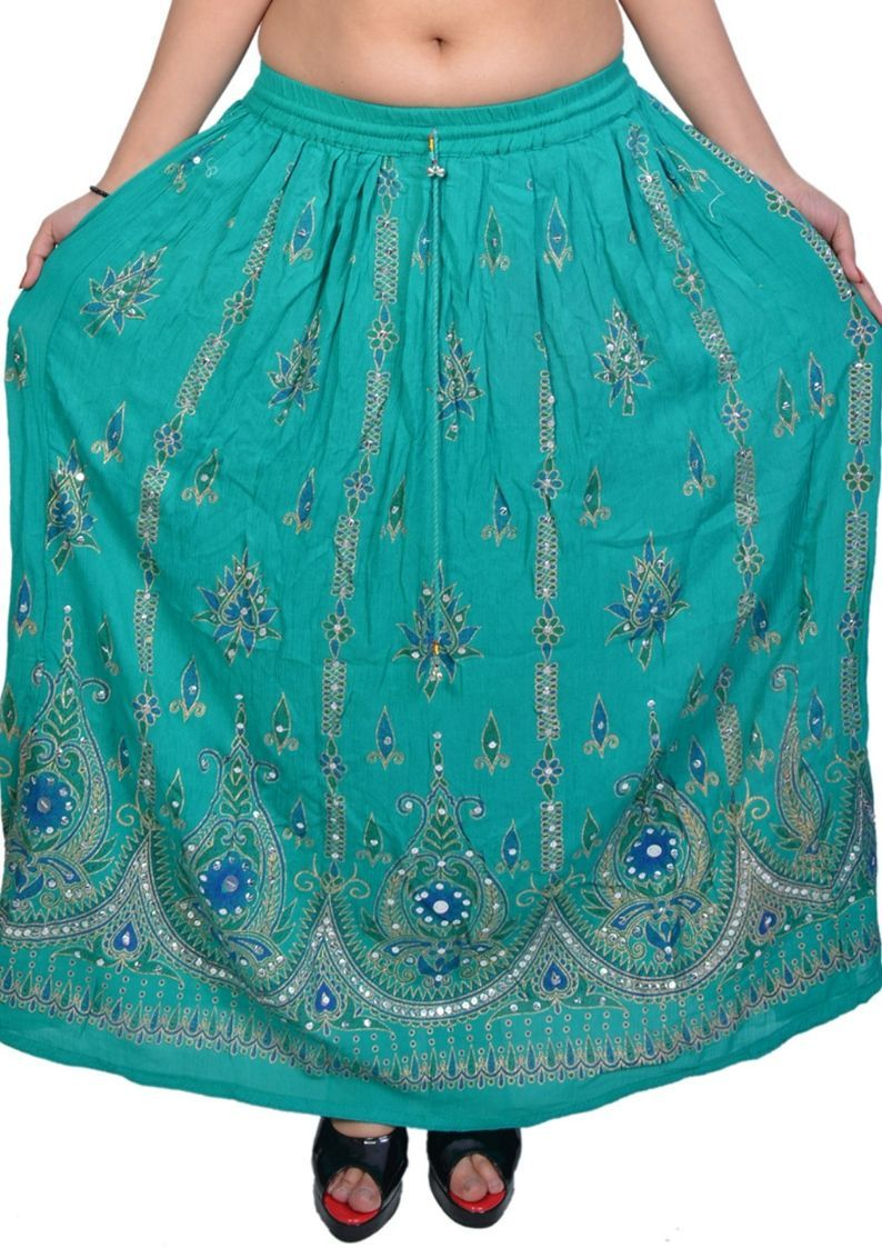 Indian Embroidery Gonna Gipsy skirts