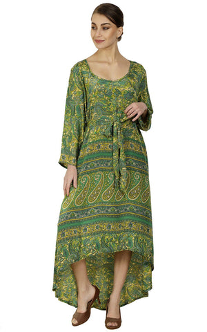 Pack of 03 Wevez Long Printed Ladies Maxi Day Dress