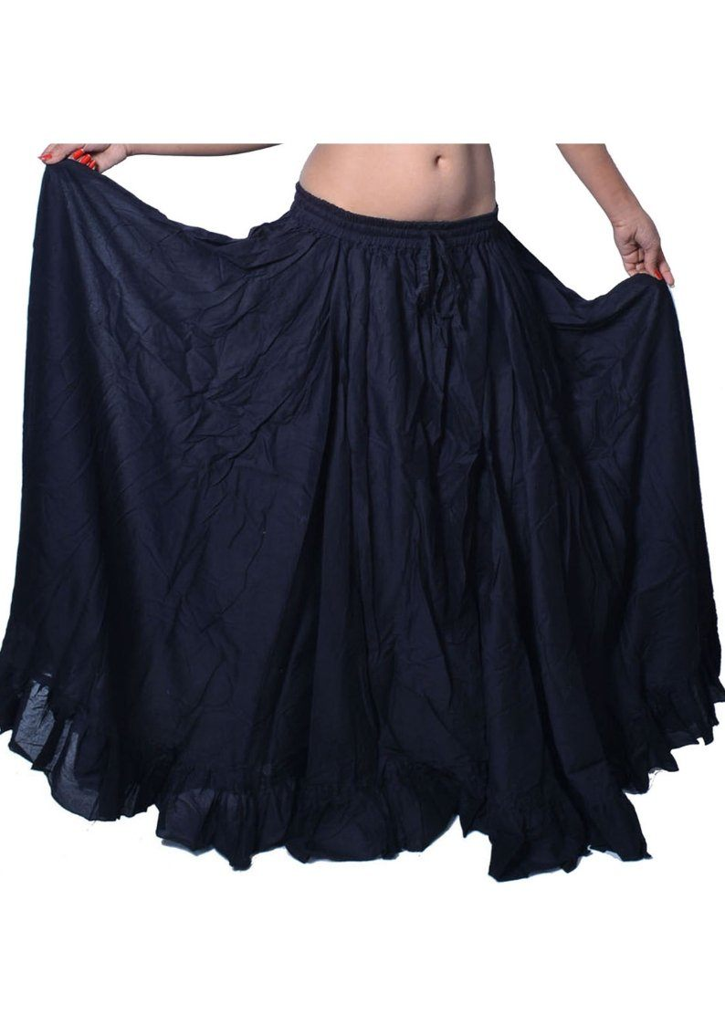 Wevez 16 yards Tribal Inspired Gypsy Flare Skirt
