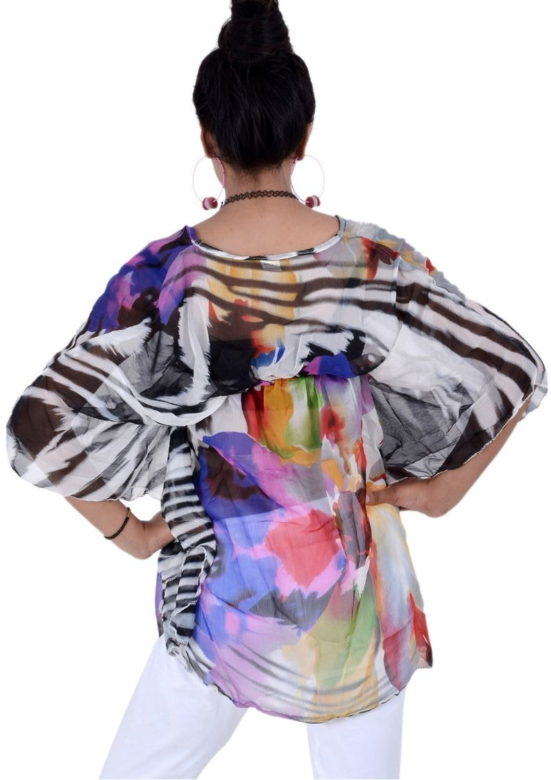 Wevez Boho Hippy Short Kaftan Tops for Women - Pack of 3