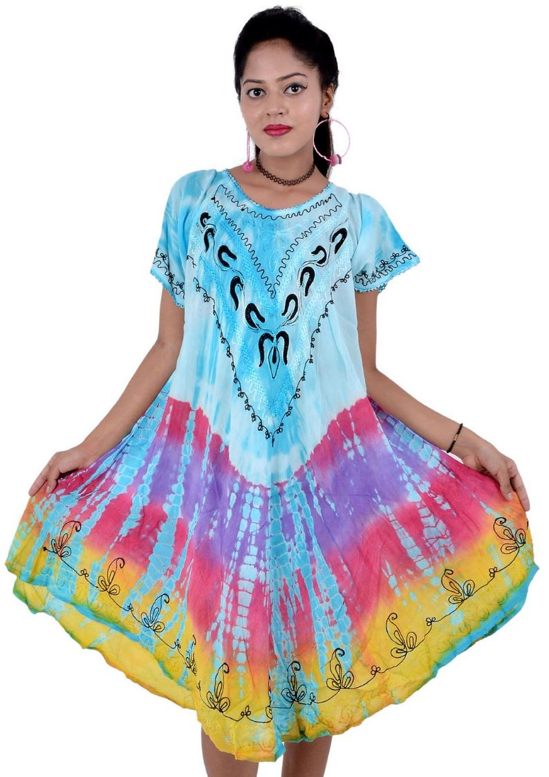 Wevez Pack Multicolored Short Sleeve Online Wholesale Clothing Dress