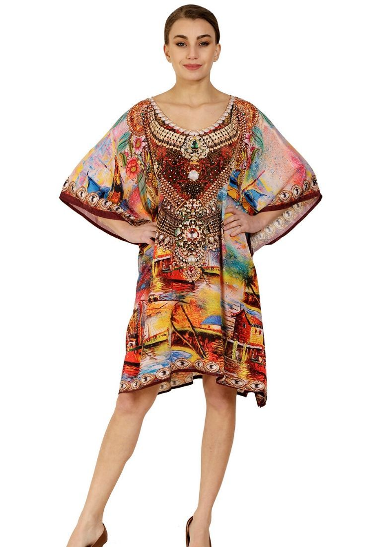 Wevez Pack of 03 Flowy Beach Party Dresses