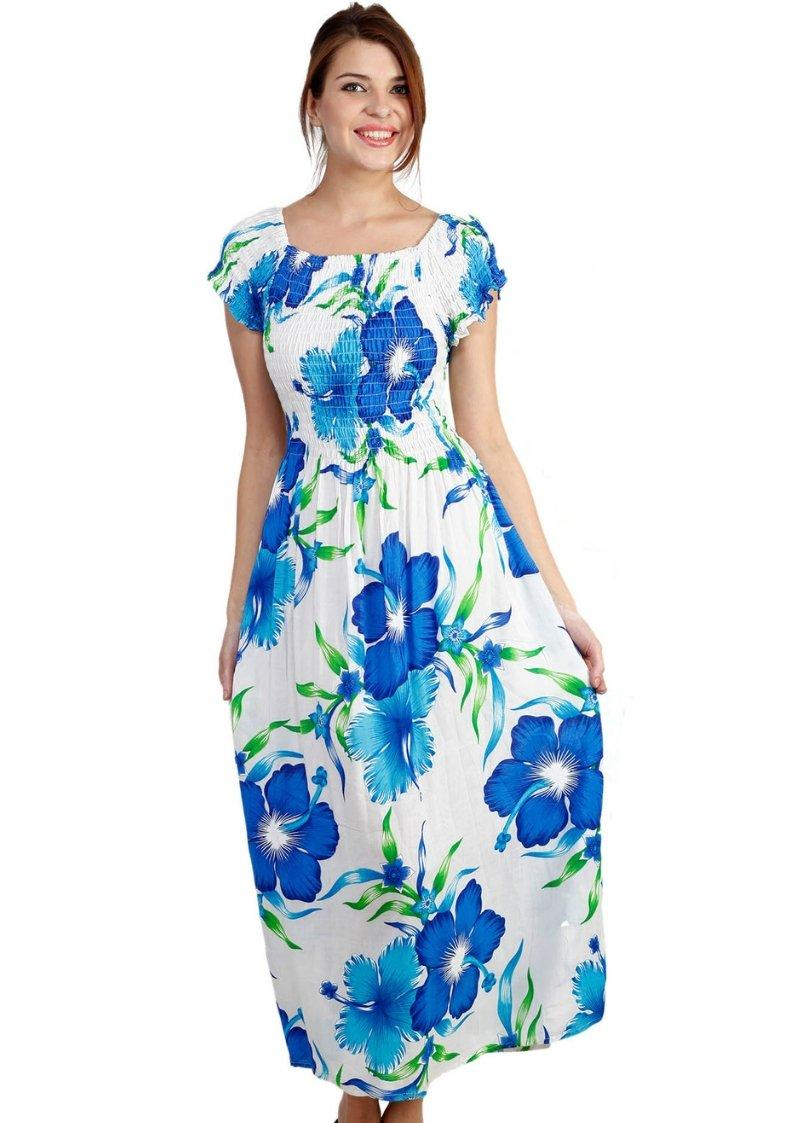 Wevez Printed Long Maxi Dresses for women Pack