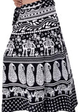 Wevez Rajasthani High Waisted Block Printed Cotton Wrap Skirts