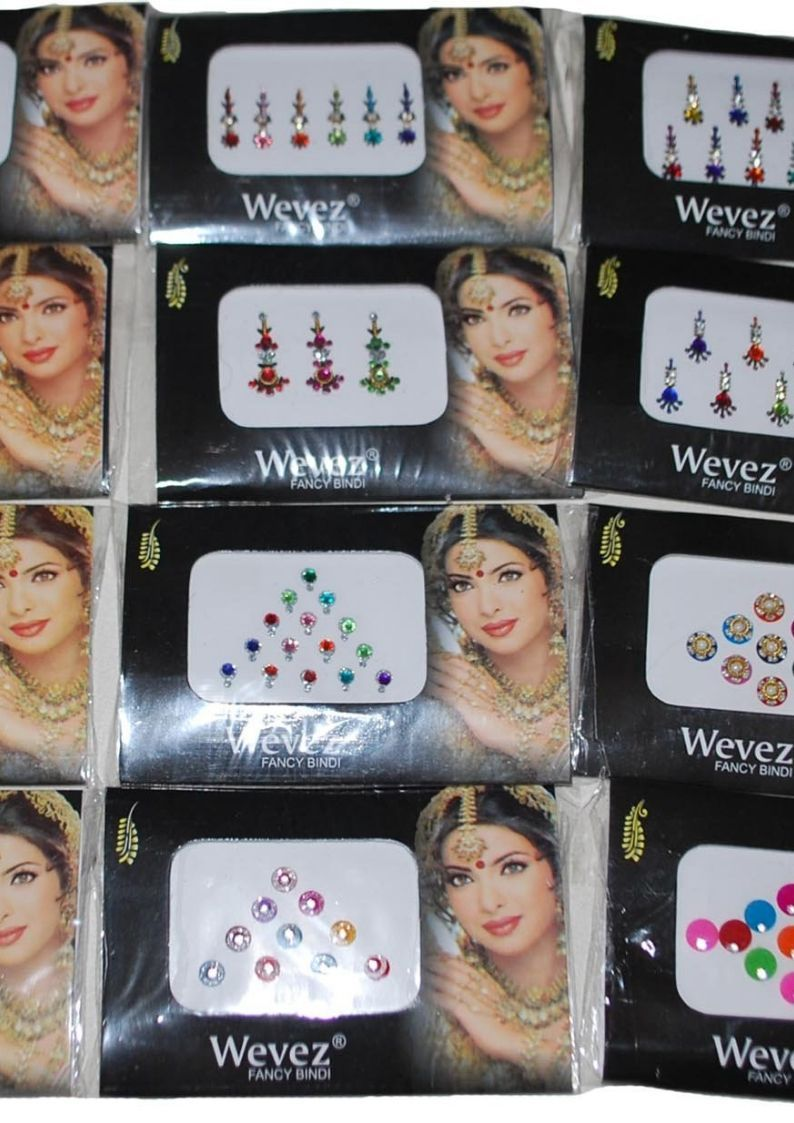 Wevez Women Makeup Stickers Bindi Dots