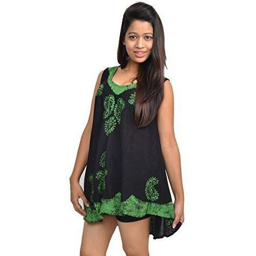 Wevez Women's Heavy Embroidery Rayon Top Pack One Size, Assorted
