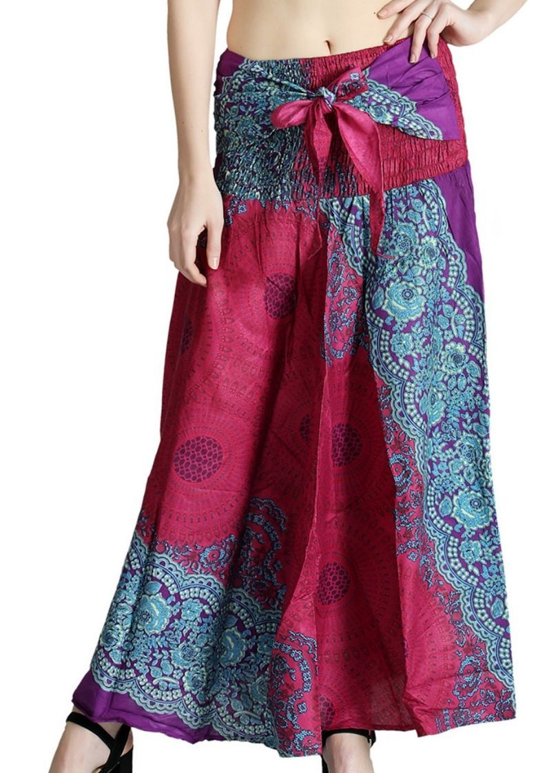 Wholesale Hippies Style Bohemian Long Maxi Skirts
