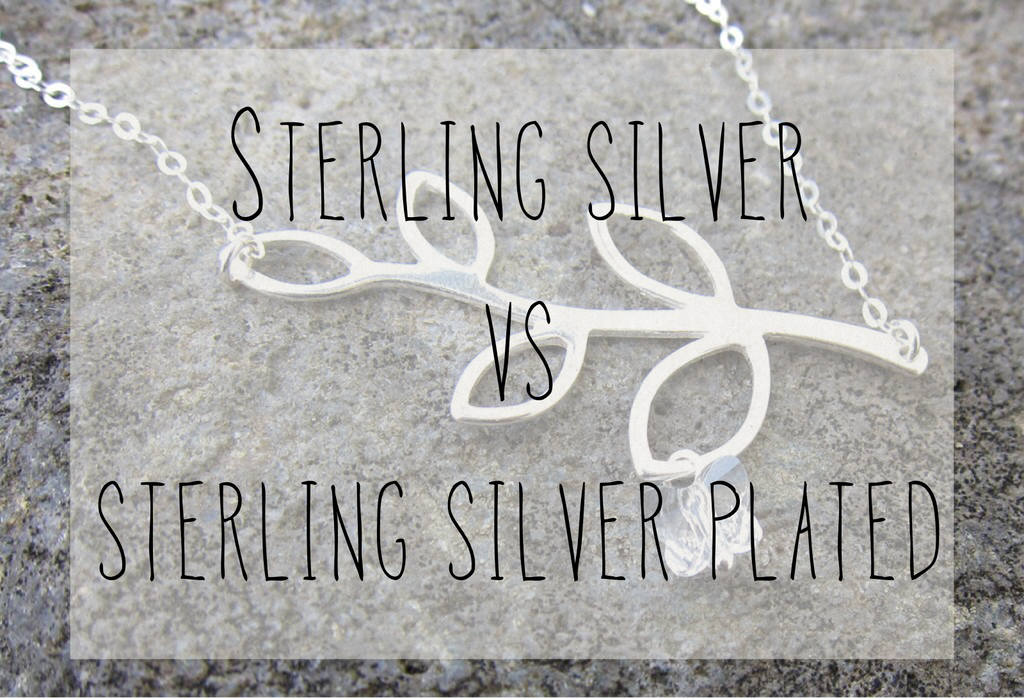 Sterling Silver vs Sterling Silver plated