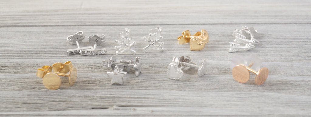 Simplicity Charms Stud Earrings