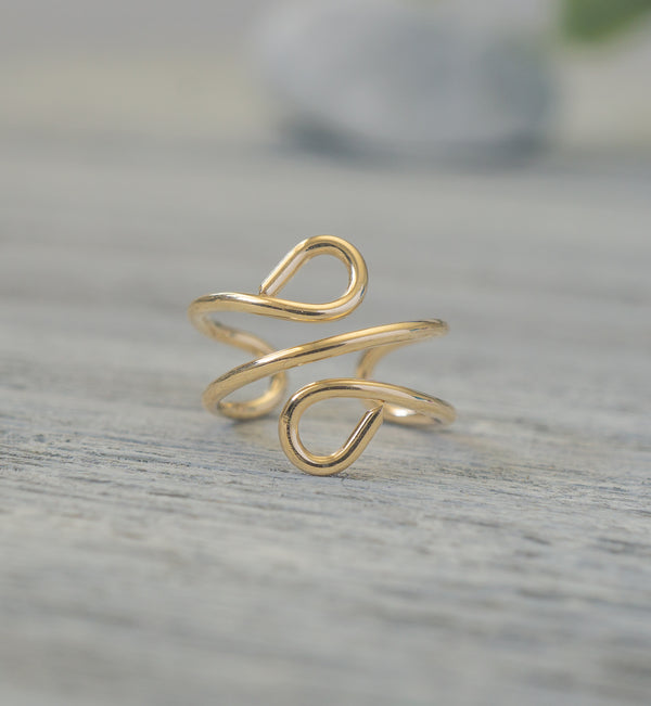 14k Gold Filled Ear Cuff
