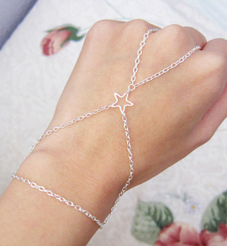 Starry Chain Wrap Bracelet