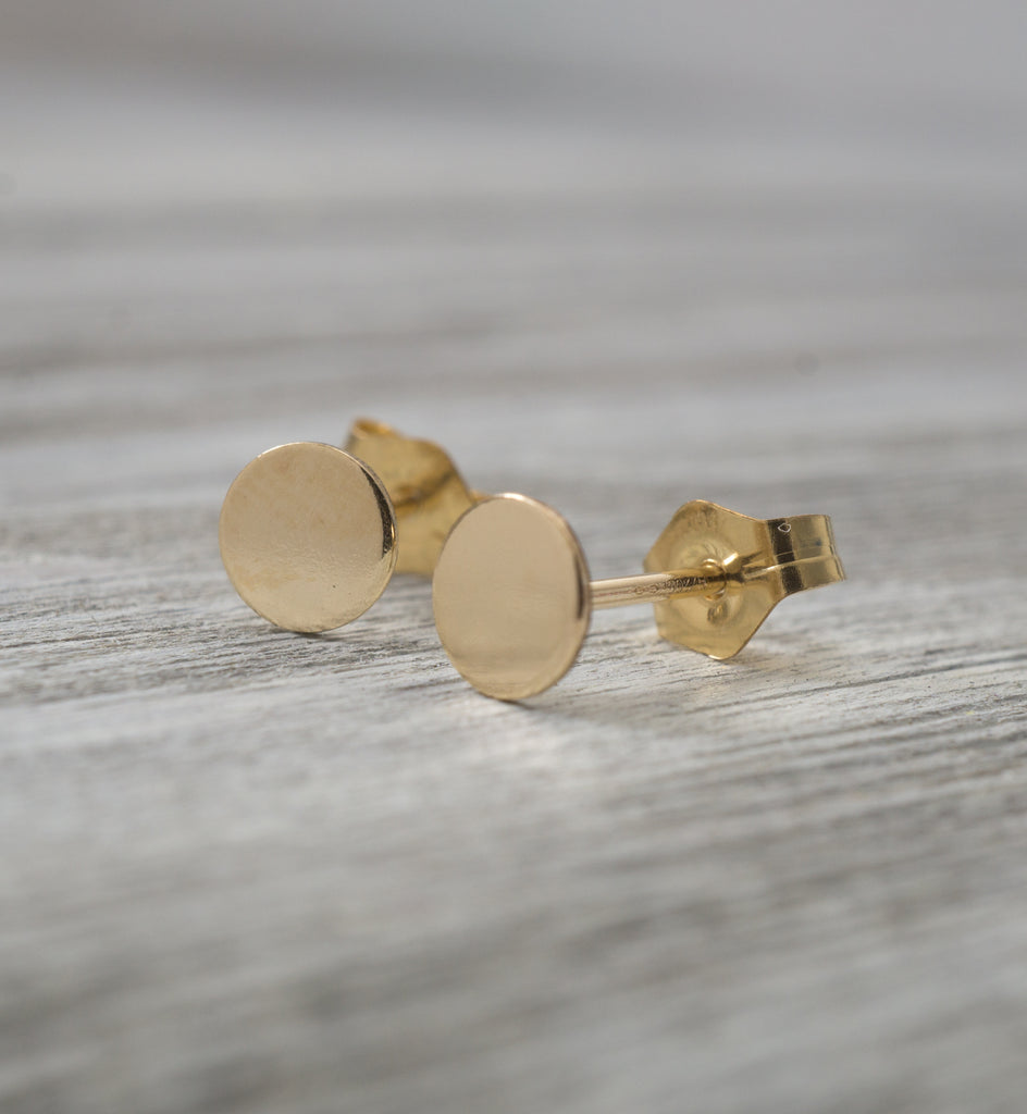Gold Filled Small Circle Earring
