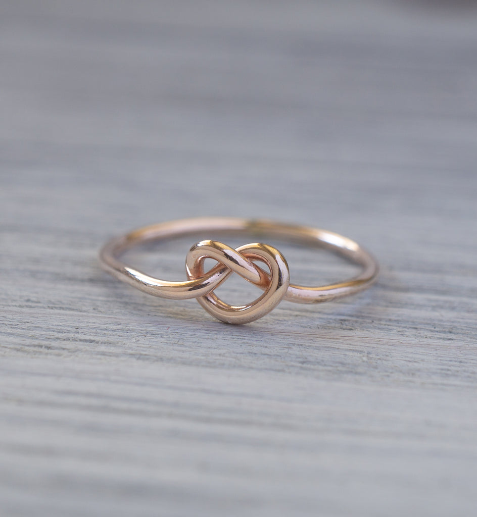 Rose Gold Filled Knot Ring
