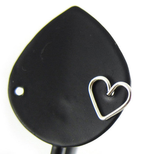 Sterling Silver Heart Single Stud