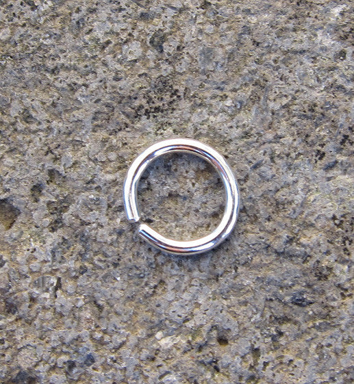 Sterling Silver Seamless Hoop Earring 10mm 16g