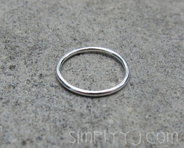 Sterling Silver Thin Knuckle Ring