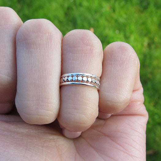 Sterling Silver Thin Knuckle Rings Set