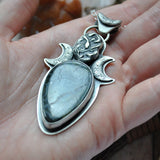 PENDANT Hallo-uary Feb-O-Ween! Serpent Moon!