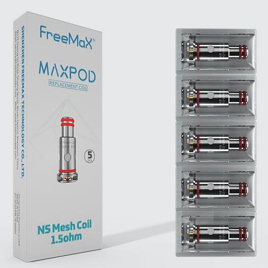 Maxpod replacement coils (5 Pack)