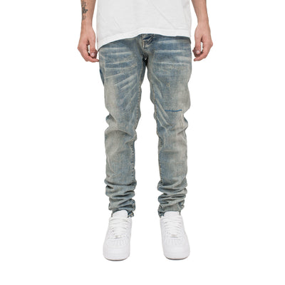 Rip & Repair Denim in Indigo | MINTCREW