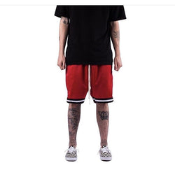 MintCrew Mesh Basketball Shorts (Red)