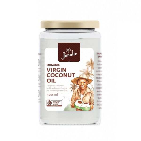 Organic Coconut Oil, 500ml