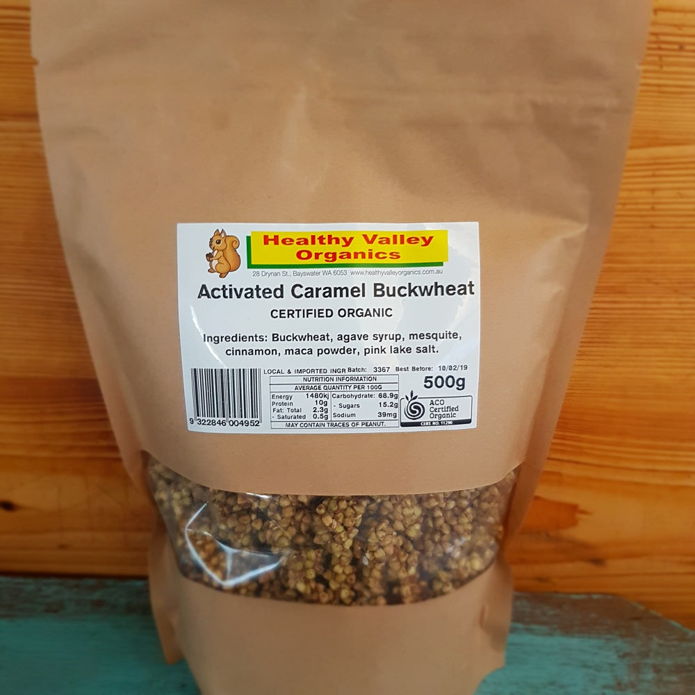Activated Buckwheat- Plain and Flavoured