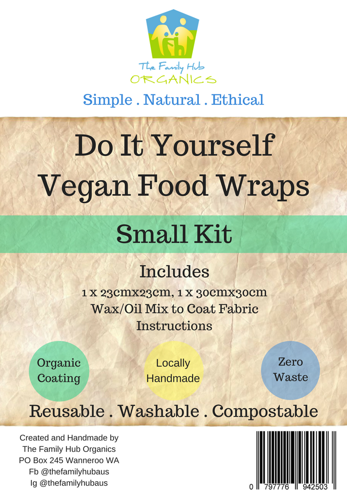 DIY Vegan Food Wraps