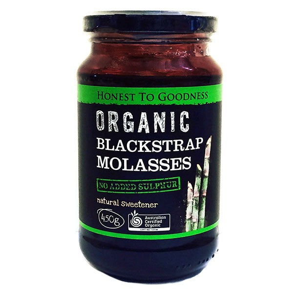 Organic Black Strap Molasses 450g (Expiry June 2018)