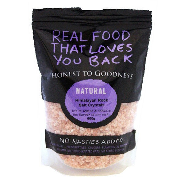 Himalayan Pink Rock Salt, Crystals, 600g