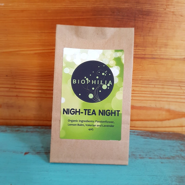 Biophilia Loose Leaf Tea- 'Nigh-Tea Night', 40g