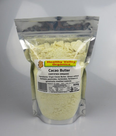 Organic Cacao Butter 500g